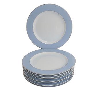 Christofle x Bernardaud  NEW Dinner Plate Lot