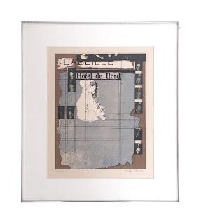 "Joseph Cornell SIGNED ""Hotel du Nord"" Lithograph"