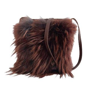 Philosophy Di Alberta Ferretti Fur Bag