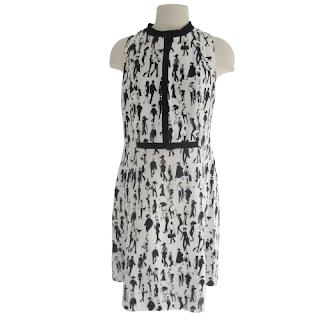 Akris Punto for Bergdorf Goodman City Strolling Dress