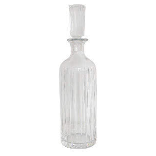 Baccarat Crystal Tall Decanter