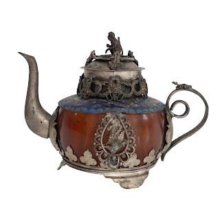Cloisonné Teapot