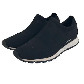 Prada Knit Sock Sneakers