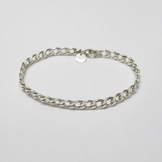 Tiffany & Co. Sterling Silver Chain Link Bracelet