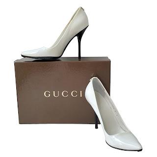 Gucci Patent Pumps