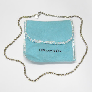 Tiffany & Co. Sterling Silver Twisted Chain Necklace