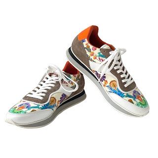 Etro Graphic Print Sneakers