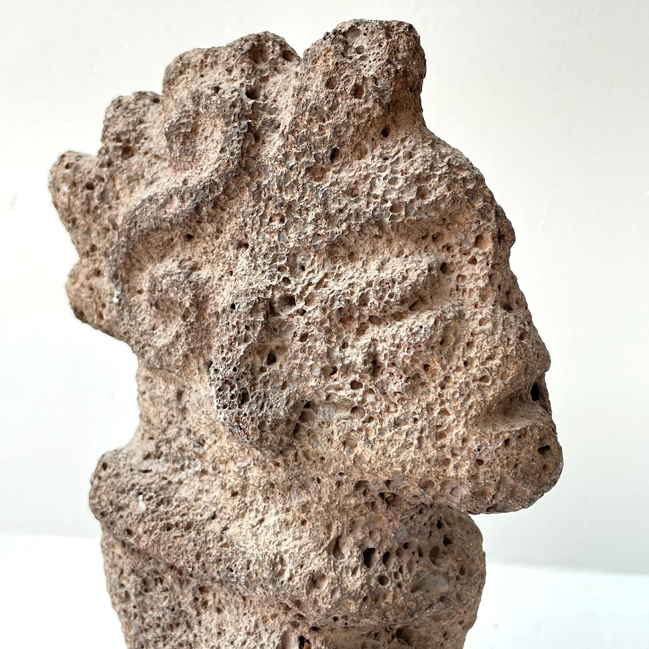 Volcanic Stone Carving