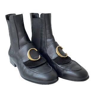 Chloé 'C' Chelsea Boots