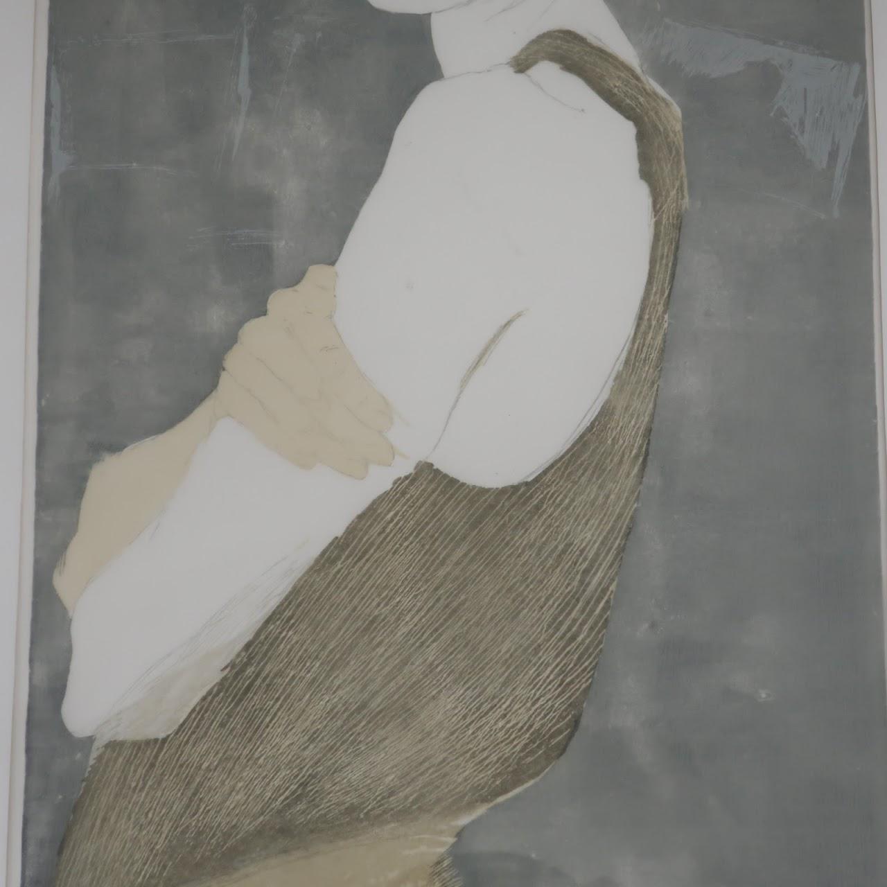 Signed Lithographic Portrait 1