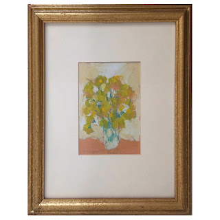 Jim Hill Signed Still Life Gouache Painting #3