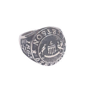 Sterling Silver King Baby Stetson Ring #2