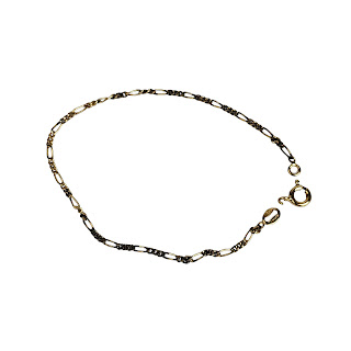 Vermeil Figaro Link Bracelet
