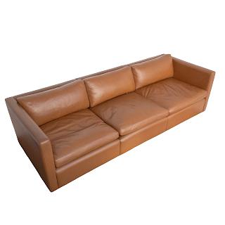 Knoll Pfister Leather Sofa