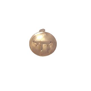 14K Gold Chai Charm