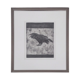 Lynn Peterfreund Signed 'A Murder of Crows 8' Etching