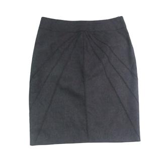 Salvatore Ferragamo Seamed Skirt