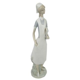 Lladró Nurse Figurine