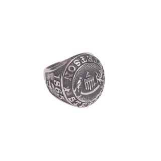 Sterling Silver King Baby Stetson Ring #1