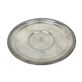 Sterling Silver Gorham Ribbed-Rim Bowl
