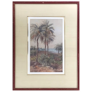 MC Abercrombie Signed Watercolor Painting