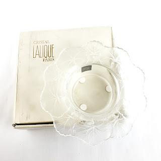 Lalique 'Honfleur' Dish 1