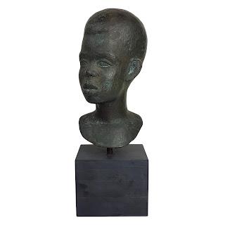 Ludovic Booz Bronze  Bust