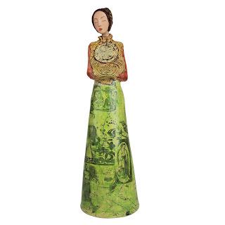 Veronica Casares Lee Ceramic  Floral Woman