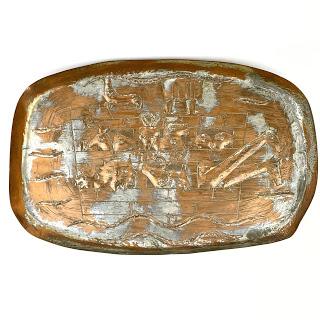 Copper Noah's Ark Tray