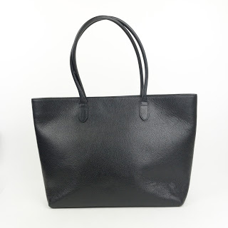 Linjer Black The Soft Tote Bag
