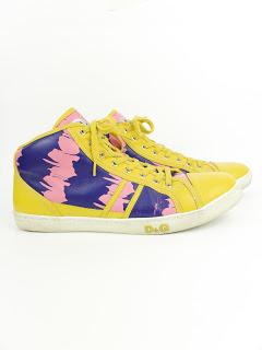 Dolce & Gabbana Butterfly Scribble Sneakers