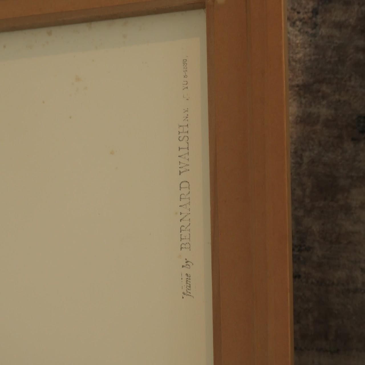 Romola Signed Graphic Aquatint Etching
