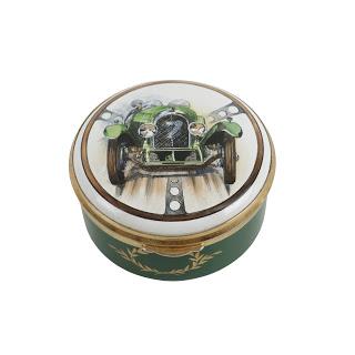 Staffordshire Enamel Limited Edition Motor Car Trinket Box