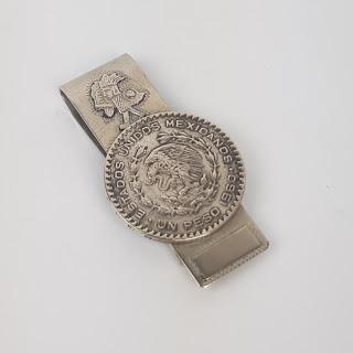 Sterling Silver Peso Money Clip