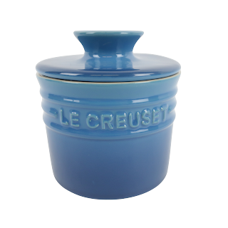 Le Creuset Stoneware Cobalt Butter Crock