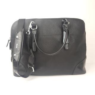 Tumi Saffiano Leather Laptop Bag