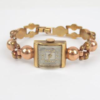 14K Gold Vintage Crosby Watch