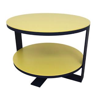 B&B Italia + Antonio Citterio Eileen Table in Yellow