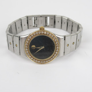 Movado Diamond Face Watch