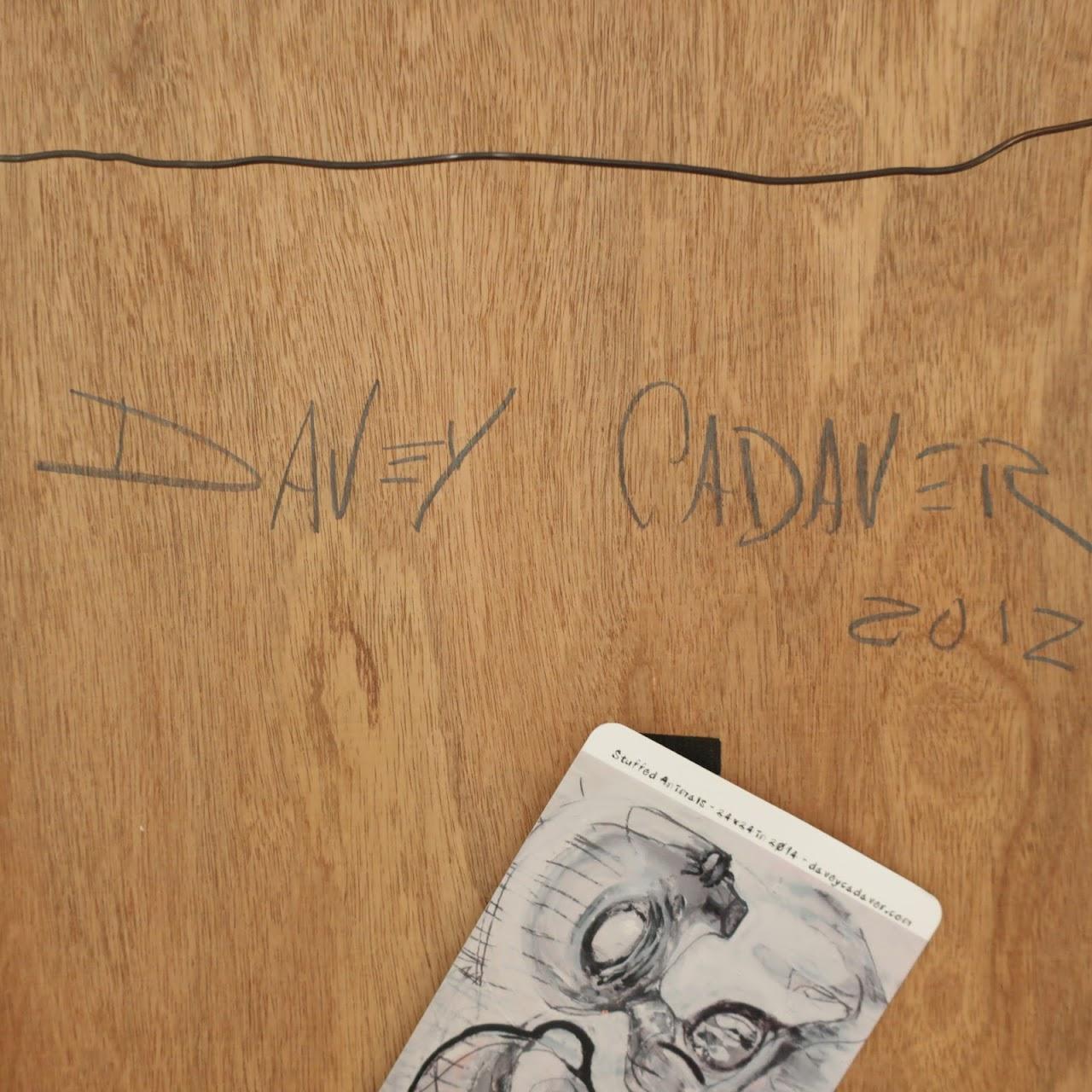 Davey Cadaver Signed Painting