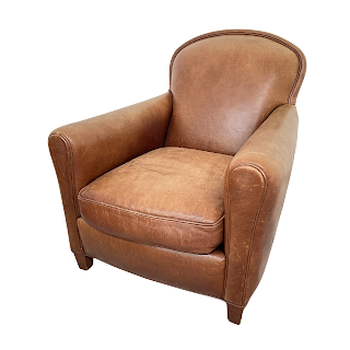 Leather Club Chair #1