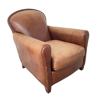 Leather Club Chair #2