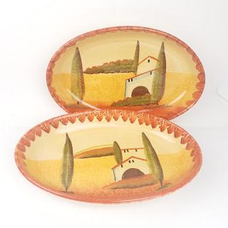 Italica Serving Platters Lot