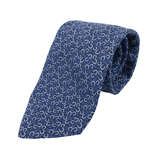 Hermès Horseshoe Tie