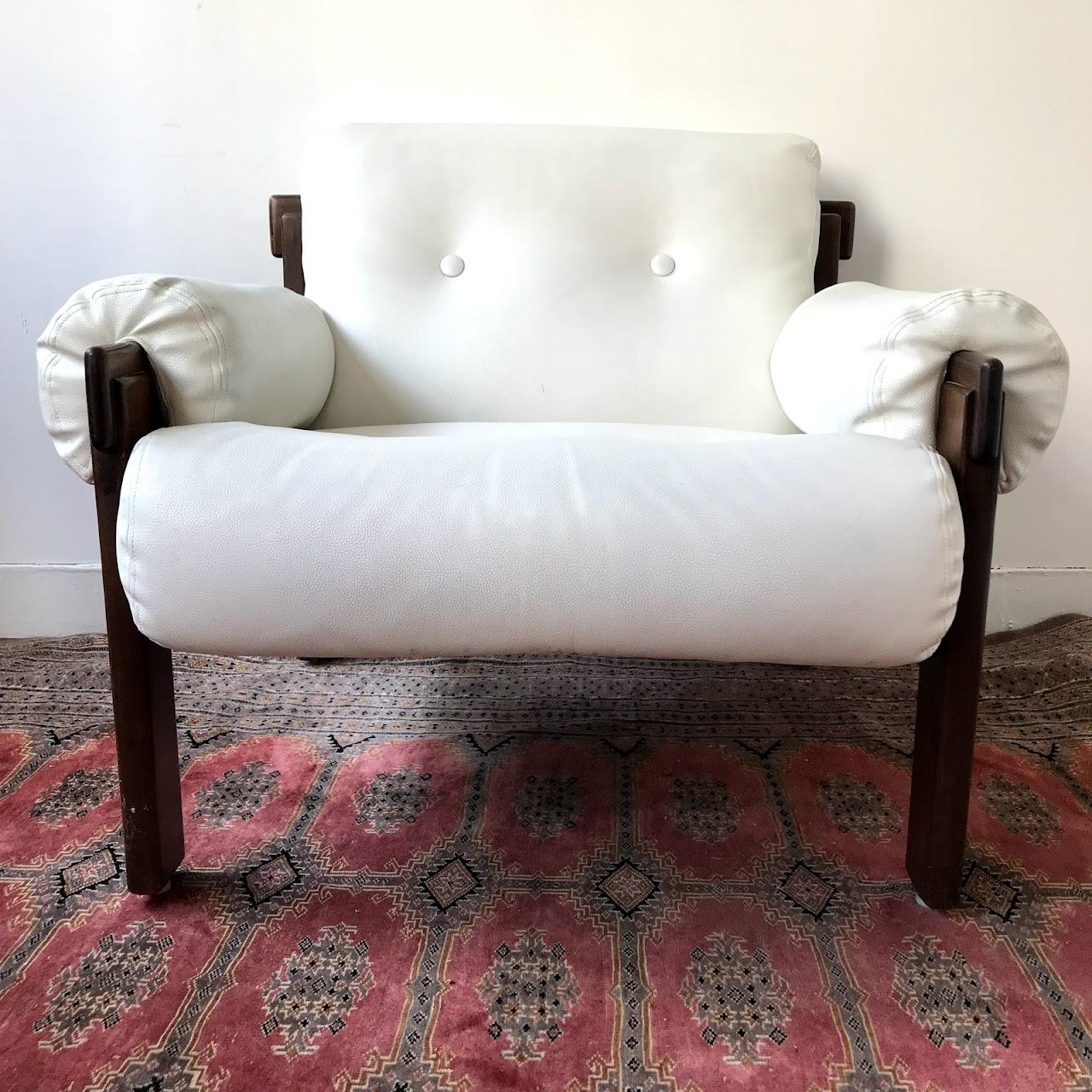 Jean Gillon for Italma Wood Art Lounge Chair