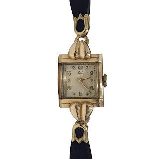 14K Gold Vintage Mido Wristwatch