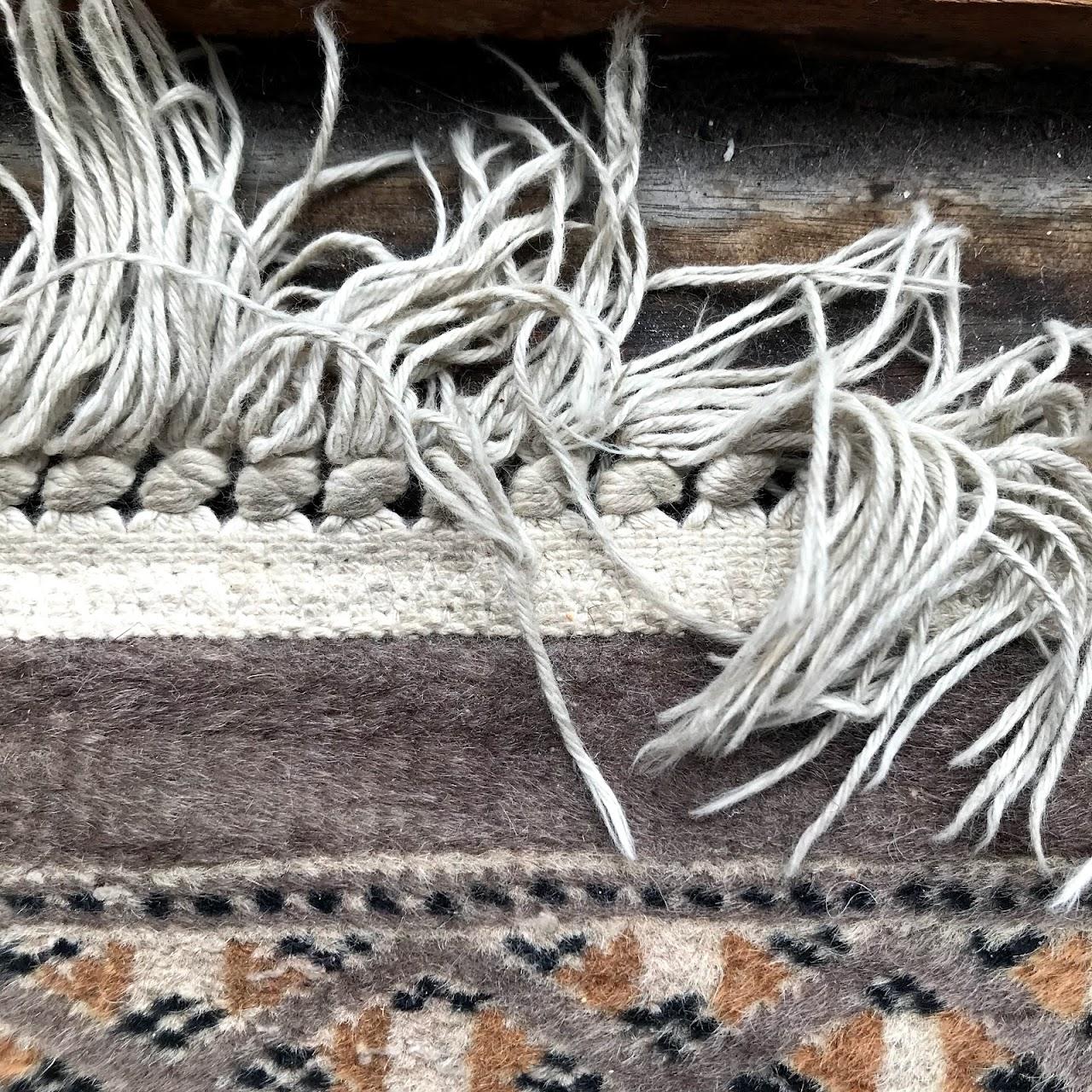 Persian Baluch Style Wool Carpet