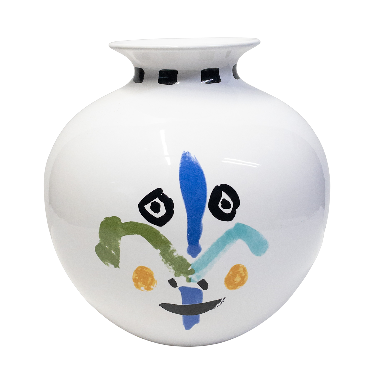 Pablo Picasso Living Face Vase  Masterpiece Editions