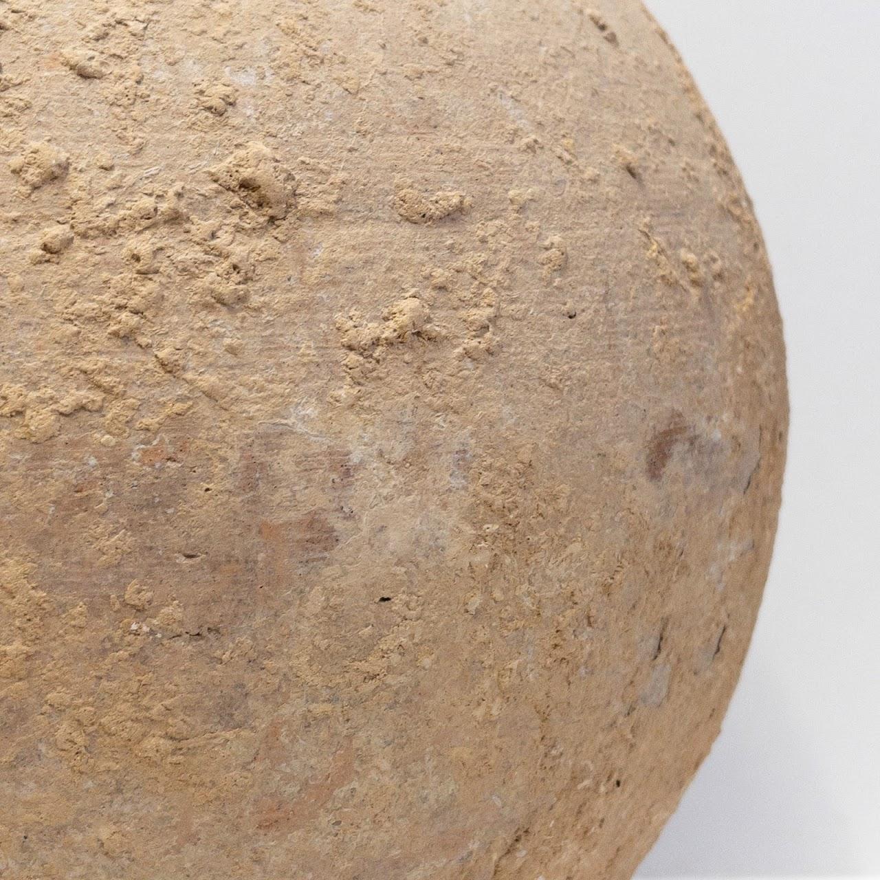 Antique Clay Urn