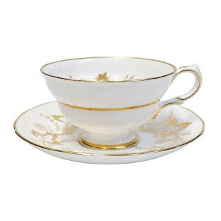 Tiffany & Co. Grosvenor England Tea Cup & Saucer